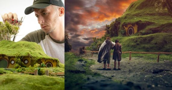 This Photographer Shoots 'Lord of the Rings' Scenes on a Tabletop