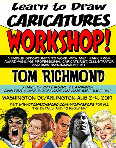 Announcing Washington DC Area Workshop in August!