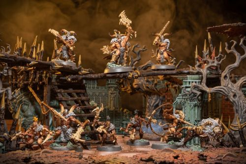 Showcase: Untamed Beasts Warband from Warcry