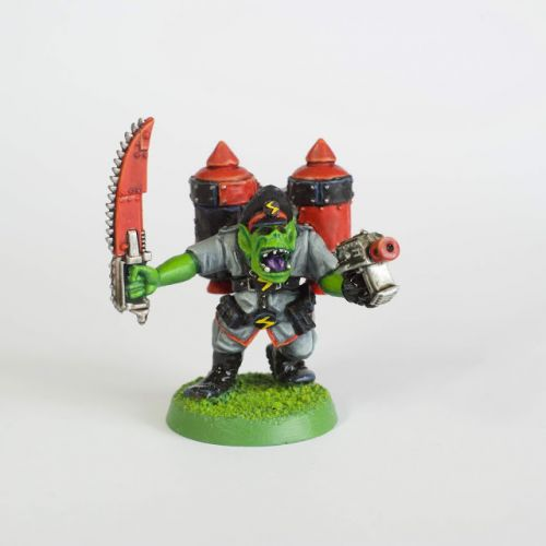 Tutorial: How to paint 2nd Edition style Ork Stormboyz by Rich