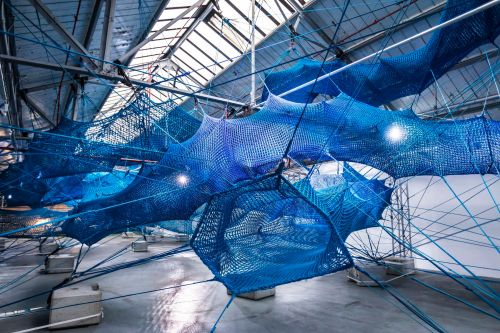 'The Weaving Project' Invites Visitors to Climb Inside a Massive Installation Formed From Nearly 10,000 Feet of Rope