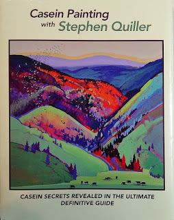 New Book: Casein Painting with Stephen Quiller
