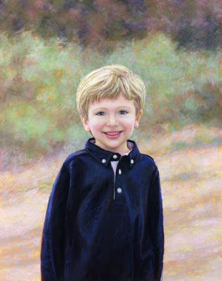 Leo - a pastel portrait commission
