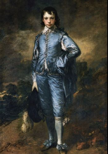 Thomas Gainsborough, Baptized on this day in 1727