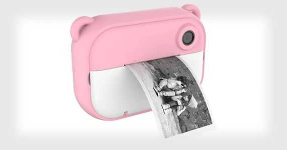 This Instant Camera for Kids Uses Cheap Thermal Paper for Prints