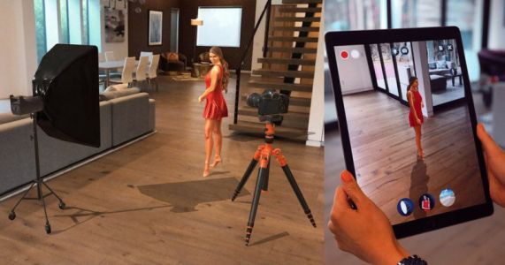This App Lets You Shoot Virtual Models in the Real World
