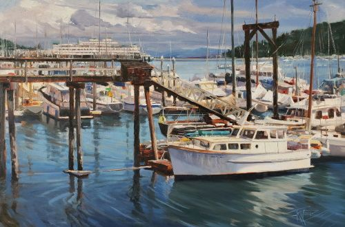 """Island Life"" Roby King Gallery Featured Artist Exhibition, by Robin Weiss"