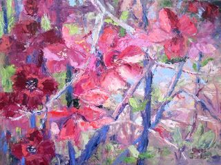 Quince Design, New Contemporary Landscape Painting by Sheri Jones