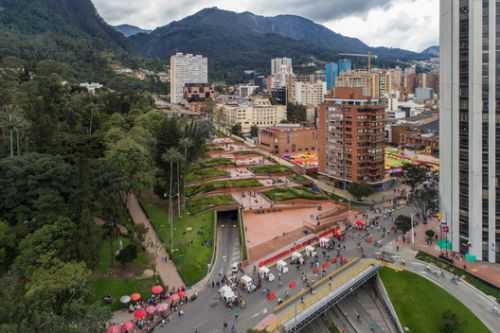 The Pride and Prejudice of Bogota's Bicentenario Park
