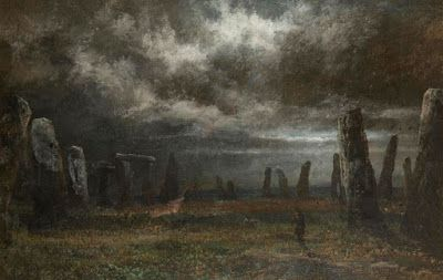 David Cox, Stonehenge by Moonlight