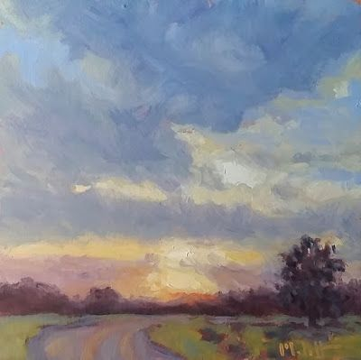 Impressionist Landscape Oil Painting Original Art