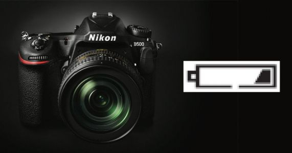 Nikon D500 Says Battery Empty with 25% Juice Left: Report