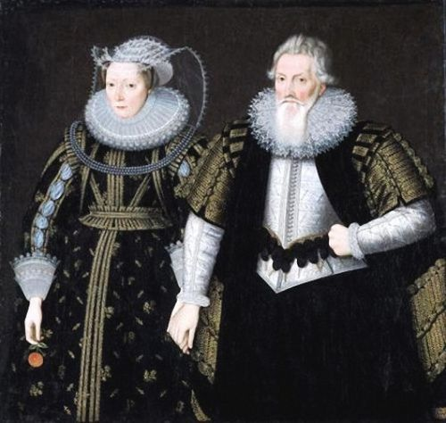 Valentine's Day - A few 17C couples in the Ruff