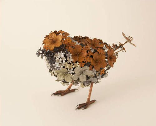 Crossconnectmag: Animals Metal Sculptures by Taiichiro