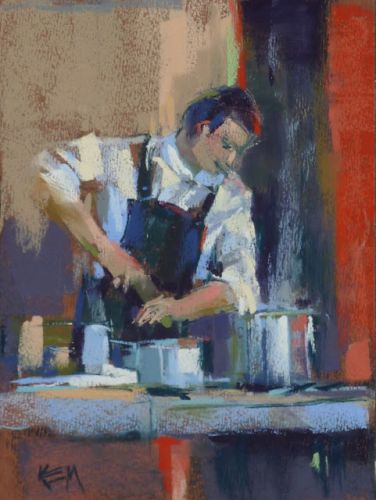 Painting Provence part 7 .Personal Chef Extraordinaire!