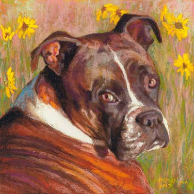 Ellie Mae - a Pet Portrait Commission