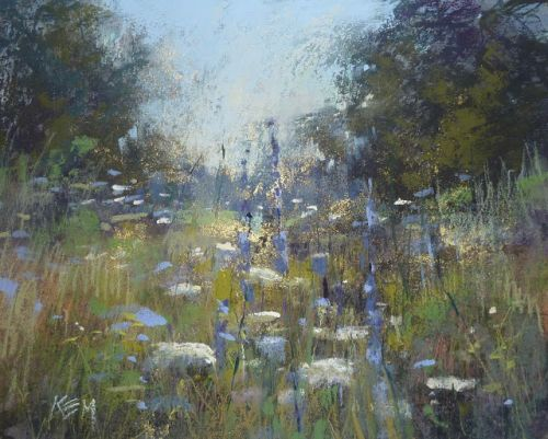 How to Paint Richer Grasses with Pastel