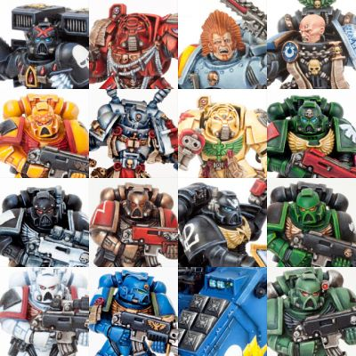 Tutorials Collection: How to paint Space Marines