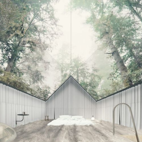 """The Stump House offers a """"Lyrical and Pragmatic"""" Live-Work Space in the California Mountains"""