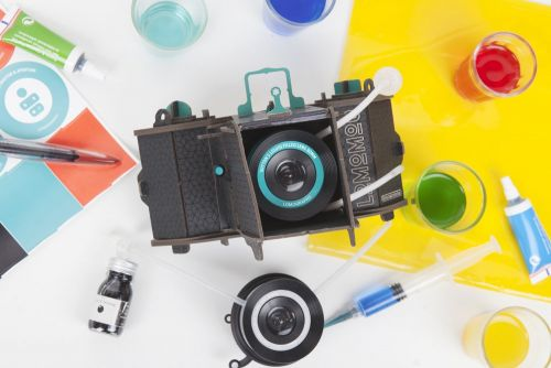 The LomoMod No.1 Cardboard Camera Comes with a Crazy 'Liquid-Filled Lens'