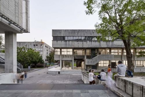 Shih Chien University Building B / Shen Ting Tseng architects