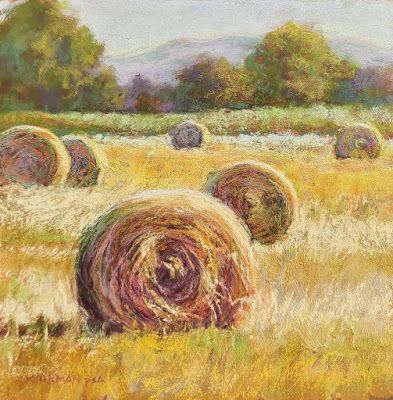 "Hay Bales 6 - ""Before and After!"""