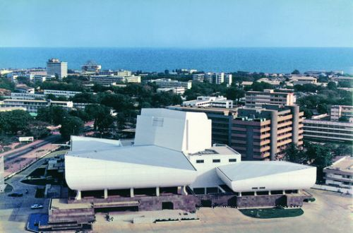 Ghana National Theatre / CCTN Design