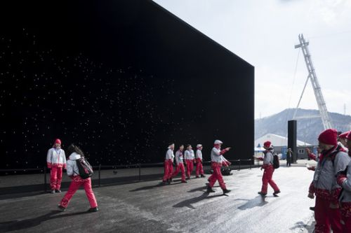 Laurian Ghinitoiu Captures Visitors' Delight at Asif Khan and Hyundai's Interactive Olympic Pavilion