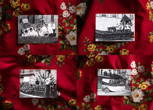 Photographing a Floral Float Parade Over a Century Old