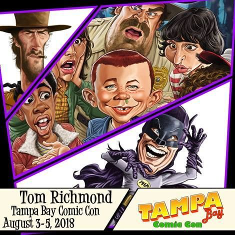 Come See Me at Tampa Bay Comic Con!