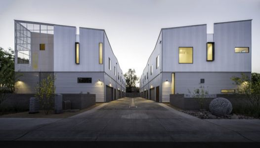 Kenneth Place Townhomes / Chen + Suchart Studio