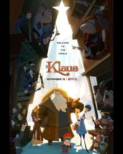 Terrific new Klaus poster showcasing all the great design and
