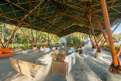 Deployable Bamboo Structure Pavilion / Bambutec Design