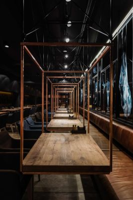 Meat Restaurant 'Sazha' / YOD design lab