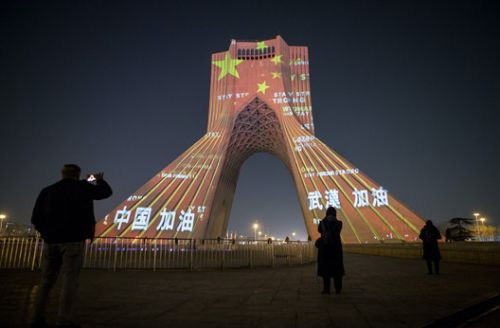 When Architecture Shows Solidarity with China Combating Coronavirus