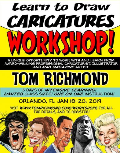 Second Orlando Workshop in January!