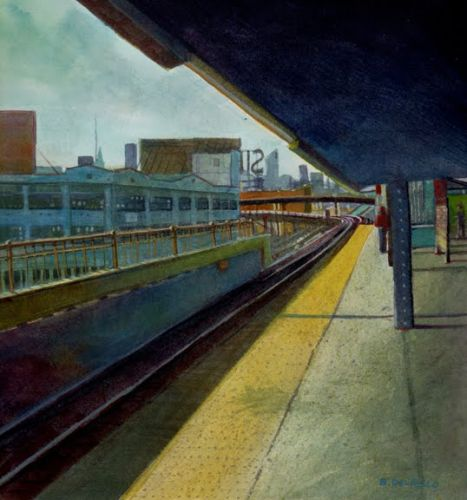 Study for Queensboro - and Collecting Imagery for your Paintings