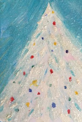 "Holiday Art, ""White Christmas,"" by Amy Whitehouse"