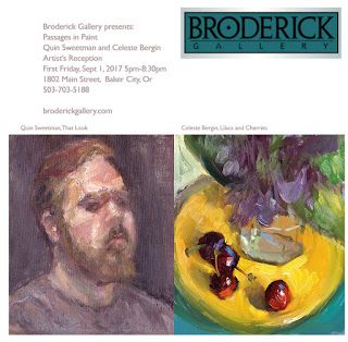 First Friday, Sept 1, 5-8:30 Broderick Gallery