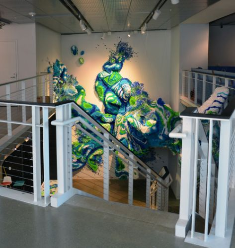 """Crystal Wagner The Finished Piece """" Bio Interloper """" When art"""