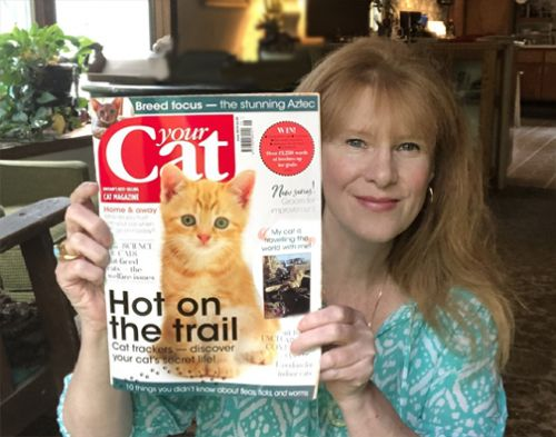 June 2019 Your Cat Magazine Features Diane Hoeptner Cat Paintings