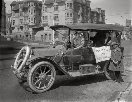 Rochester to L.A.: 1921