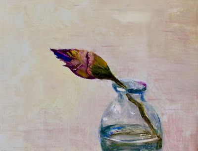 """Contemporary Still Life, """"Bud,"""" by Amy Whitehouse"""