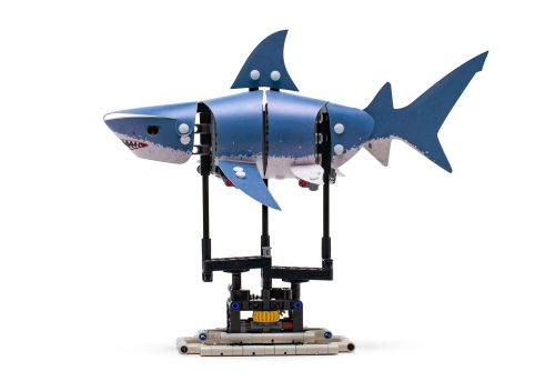 New Gear-Operated Koi Fish and Shark LEGO Sets Aim to Decrease Stress in Adults