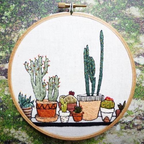 Embroidery Art by Amy Jones Amy Jones is an artist from