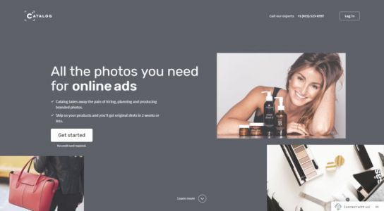 Catalog Raises $1.5M to Offer Pro Ad Photos for as Little as $19 Each