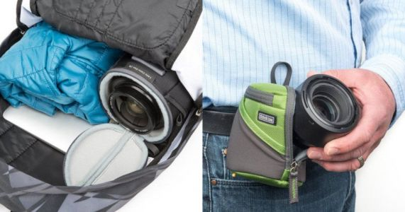 Lens Case Duo: Protective Lens Cases for Both Bags and Waists