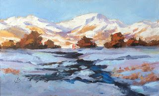 WINTER LANDSCAPE by TOM BROWN