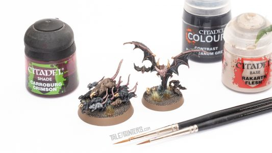 Tutorial: How to paint Corpse Rats and Bat Swarms from Warhammer Quest Cursed City