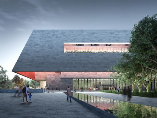 Designs by Adjaye Associates, BIG, DS+R Released for Adelaide Contemporary Museum